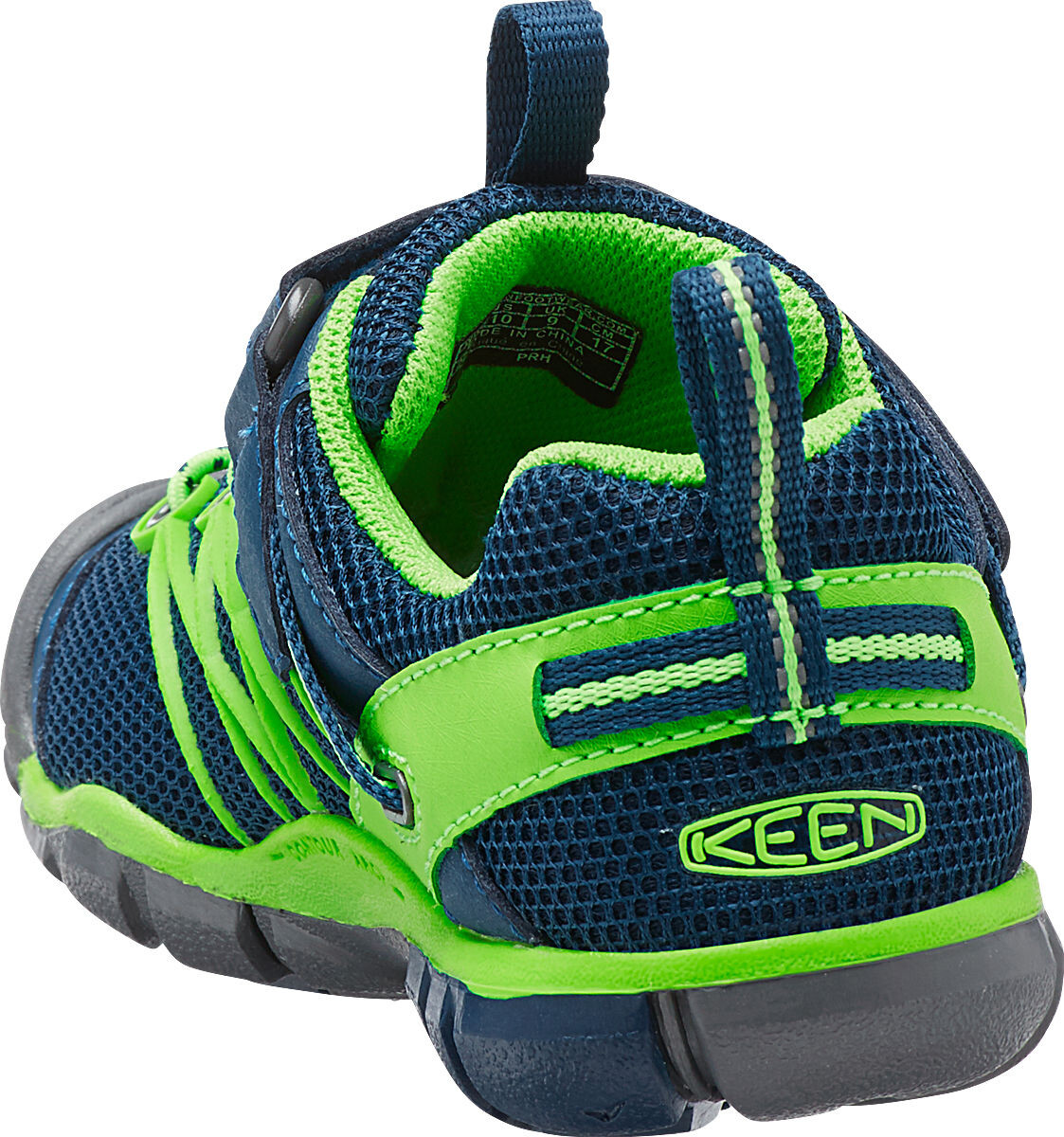 Keen Chandler CNX Scarpe Bambino verde blu su Addnature 749a5e34987